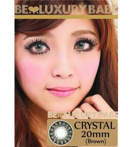20mm - Crystal - Brown - Power