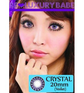 20mm - Crystal - Violet - Power
