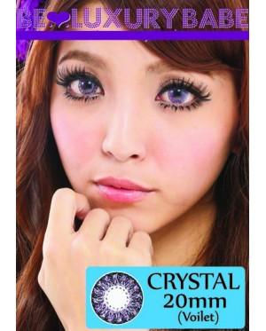 20mm - Crystal - Violet - Power