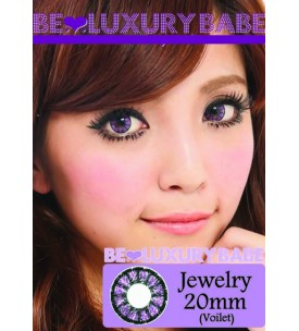 20mm - Jewelry - Violet - Power