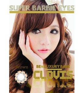 Barbie Lens 16.5mm - Clovis - Brown
