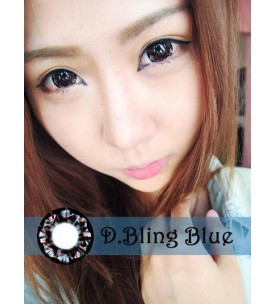 Barbie Lens 16.5mm - D.Bling 3 Tone - Blue
