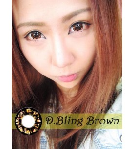 Barbie Lens 16.5mm - D.Bling 3 Tone - Brown