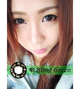 Barbie Lens 16.5mm - D.Bling 3 Tone - Green
