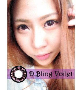 Barbie Lens 16.5mm - D.Bling 3 Tone - Violet