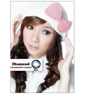 Barbie Lens 16.5mm - Diamond - Blue - Power