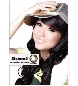 Barbie Lens 16.5mm - Diamond - Brown - Power