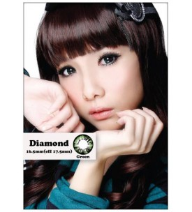Barbie Lens 16.5mm - Diamond - Green