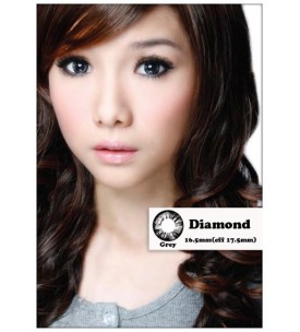Barbie Lens 16.5mm - Diamond - Grey - Power
