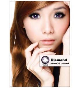 Barbie Lens 16.5mm - Diamond - Violet - Power