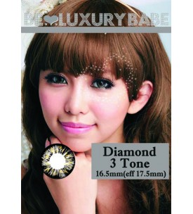 Barbie Lens 16.5mm - Diamond 3 Tone - Grey
