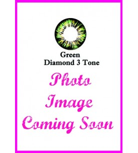 Barbie Lens 16.5mm - Diamond 3 Tone - Green