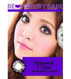 Barbie Lens 16.5mm - Diamond 3 Tone - Violet