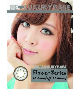 Barbie Lens 16.5mm - Flower - Grey