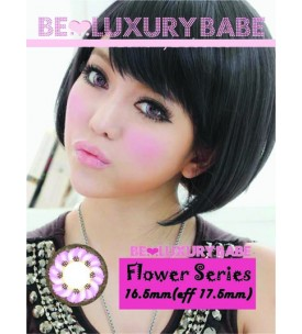 Barbie Lens 16.5mm - Flower - Pink