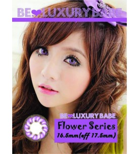 Barbie Lens 16.5mm - Flower - Violet
