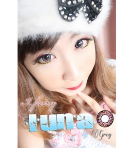 Barbie Lens 16.5mm - Luna 4 Tone - Grey