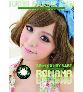 Barbie Lens 16.5mm - Romana - Green
