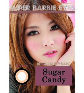 Barbie Lens 16.5mm - Sugar Candy - Brown - Power