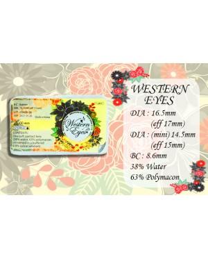 Western Eyes 16.5mm - Nublok 16.5 - Brown - Power
