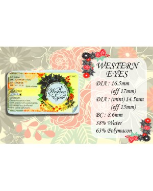 Western Eyes 16.5mm - Nublok 16.5 - Grey - Power