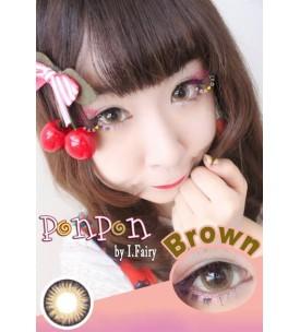 Lens Story 16.5mm - Pon Pon - Brown