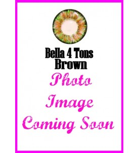 Barbie Lens 16.5mm - Bella 4 Tone - Brown