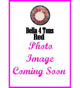 Barbie Lens 16.5mm - Bella 4 Tone - Red