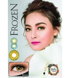 Western Eyes 16.5mm - Frozen - Brown - Power