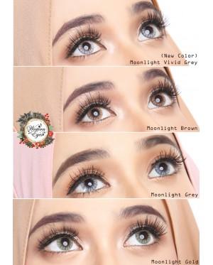 Western Eyes 16.5mm - Moonlight - Brown