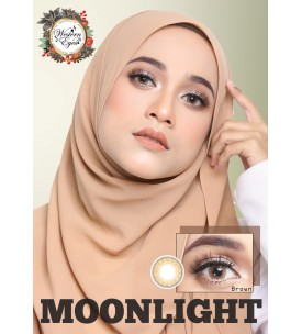 Western Eyes 16.5mm - Moonlight - Brown