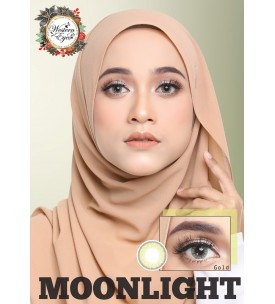 Western Eyes 16.5mm - Moonlight - Gold
