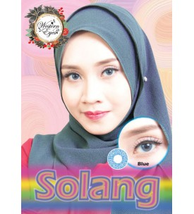 Western Eyes - Solang - Blue