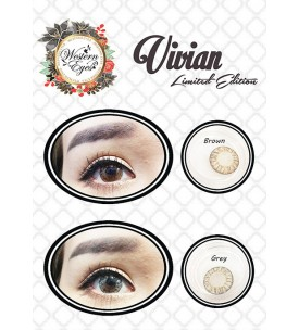 Western Eyes Limited Edition - Vivian - 0.00 Degree