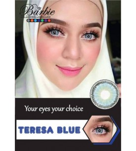 Barbie Lens 16.5mm - Teresa - Blue - Power
