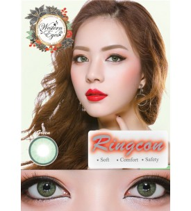Western Eyes - Ringcon - Lime Green