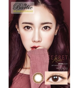 Barbie Lens 14.2mm - Secret Kiss - Brown - Power