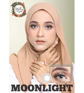 Western Eyes 16.5mm - Moonlight - Vivid Grey