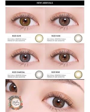 Western Eyes - Roze - Nude