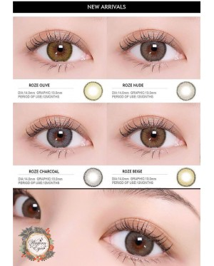 Western Eyes - Roze - Charcoal