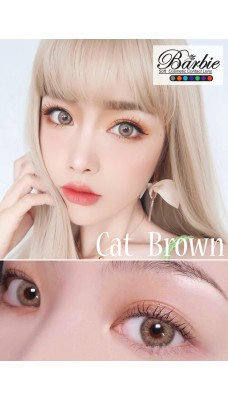 Barbie Lens 14.5mm - Cat - Brown - Power