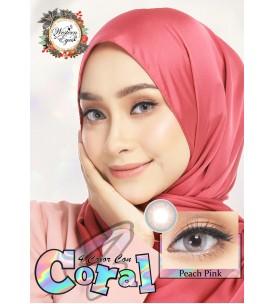 Western Eyes - Coral - Peach Pink